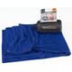 Cocoon Travel Blanket - Merino Wool/Silk azul